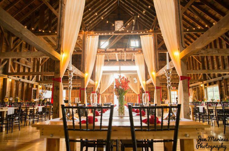 Wedding Reception at The Inn at Fogg Farm